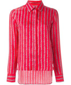 Carven | Рубашка С Полосатым Узором