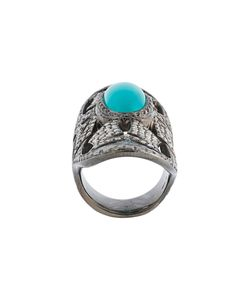 LOREE RODKIN | Turquoise Diamond Bondage Ring