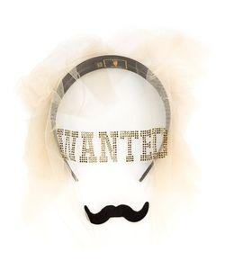 PIERS ATKINSON | Wanted Moustache Veil