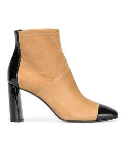 Casadei | Ботинки С Контрастным Носком