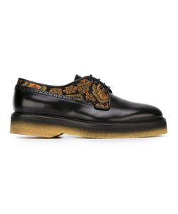 Etro | Printed Detail Lace-Up Shoes