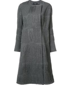 Narciso Rodriguez | Textured Check Coat