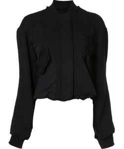 Haider Ackermann | Cropped Jersey Bomber Jacket