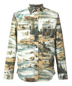 RRL | Фланелевая Рубашка Matlock Brushed