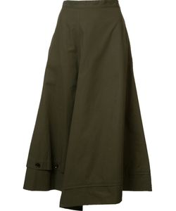 Yohji Yamamoto | Asymmetric Draped Skirt
