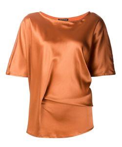 Ann Demeulemeester | Блузка С Асимметричным Подолом