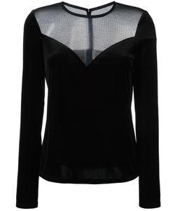 Lanvin | Блузка С Сетчатой Панелью