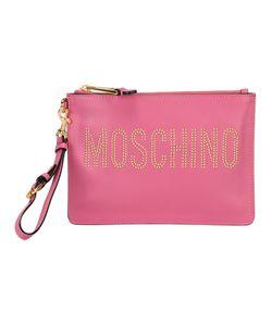 Moschino | Клатч С Логотипом И Заклепками