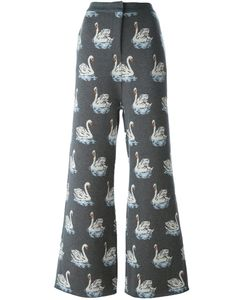 Stella Mccartney | Swan Print Trousers