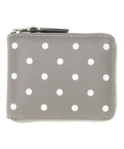 Comme Des Garcons   Comme Des Garçons Wallet Polka Dots Printed Wallet