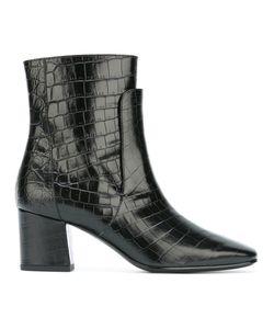 Givenchy | Ботинки С Эффектом Крокодиловой Кожи