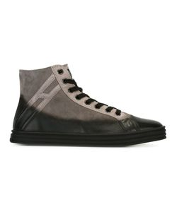 Hogan Rebel | Panelled Hi-Top Sneakers