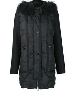 Moncler | Padded Grosgrain Trim Coat