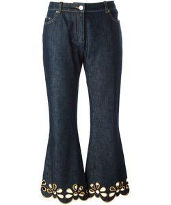 Celine Vintage   Céline Vintage Embroidered Cuff Jeans