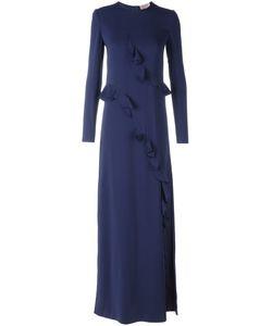 Lanvin | Драпированное Вечернее Платье