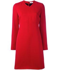 Courreges | Платье Шифт С Длинными Рукавами