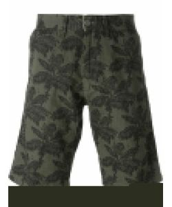 Carhartt | Johnson Palm Tree Print Bermuda Shorts