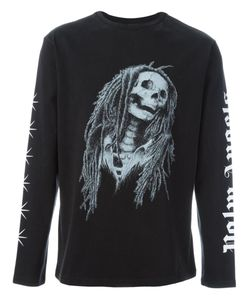 PALM ANGELS | Skeleton Print Sweatshirt