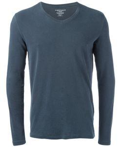 MAJESTIC FILATURES | Longsleeved V-Neck T-Shirt