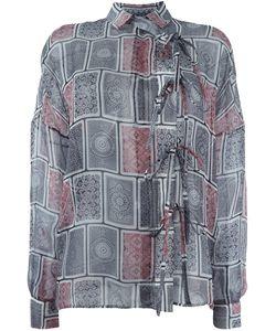 Maison Margiela | Sheer Printed Shirt