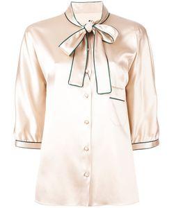 Dolce & Gabbana | Pussy Bow Shirt