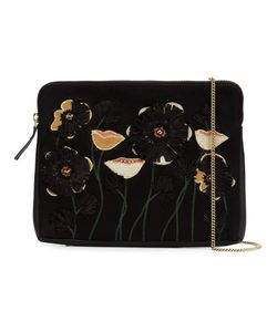 LIZZIE FORTUNATO JEWELS | Embroidered Flower Clutch