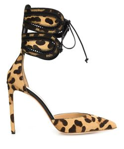 FRANCESCO RUSSO | Leopard Print Stiletto Pumps