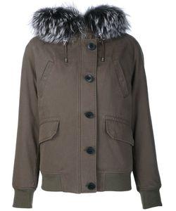 BEAU SOUCI | Fox Fur Trimmed Parka
