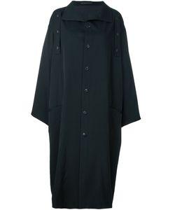 Yohji Yamamoto | Объемное Однобортное Пальто