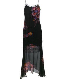 Etro | Платье С Кружевными Вставками И Цветочным Принтом
