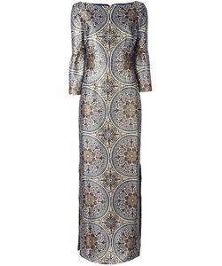 VILSHENKO | Длинное Платье С Орнаментом