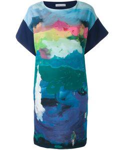 Tsumori Chisato | Платье С Рисунком-Пейзажем