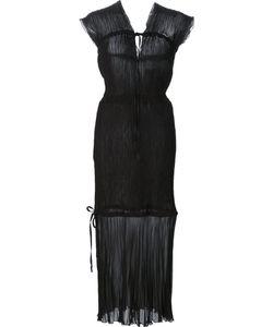 Barbara Casasola | Sheer Panel Dress