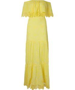 SKINBIQUINI | Ruffled Off-Shoulder Maxi Dress