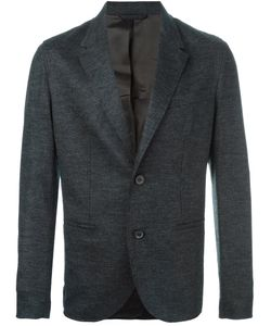 Lanvin | Contrast Panel Button Blazer