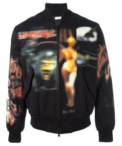 Givenchy | Куртка-Бомбер С Абстрактным Принтом