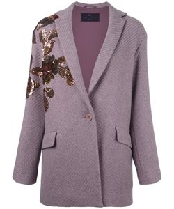 Etro | Sequined Ribbed Cardi-Coat