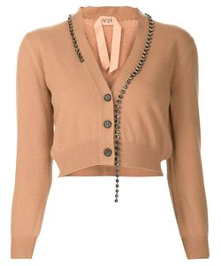 No21 | Embellished Cropped Cardigan
