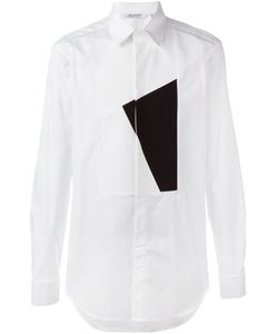 Neil Barrett | Striped Patch Shirt