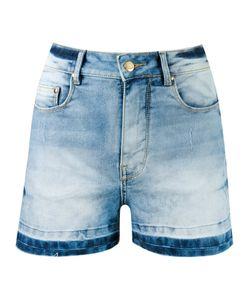 Amapô | High-Waist Denim Shorts