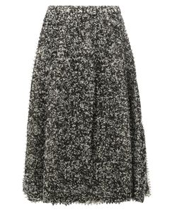 ANREALAGE | Pixelated Print Midi Skirt