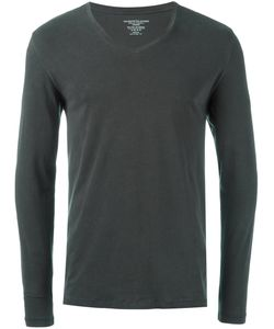 MAJESTIC FILATURES | Longsleeved V-Neck T-Shirt