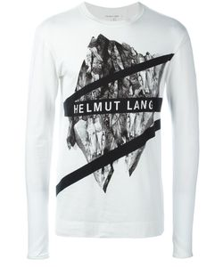 Helmut Lang | Футболка С Длинными Рукавами И Принтом-Логотипом