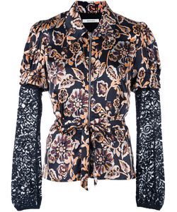 Rodarte | Print Fitted Shirt