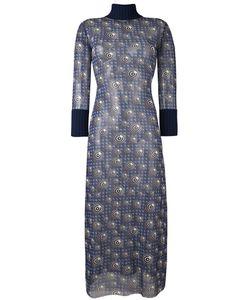 JEAN PAUL GAULTIER VINTAGE   Прозрачное Платье С Графическим Принтом