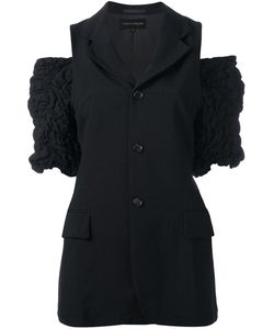 Comme Des Garcons | Sleeveless Jacket With Ruffle Detailing