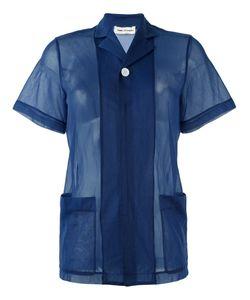 Comme Des Garcons | Прозрачная Рубашка С Короткими Рукавами