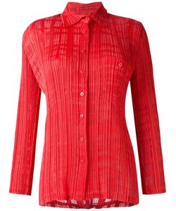 ISSEY MIYAKE VINTAGE | Burned Out Pleated Shirt