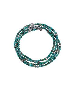 M COHEN | Beaded Wrap Bracelet