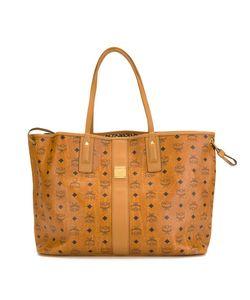 MCM   Canvas Shopper Bag